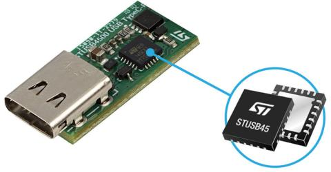 STUSB4500 Standalone USB Type-C and Power-Delivery controller