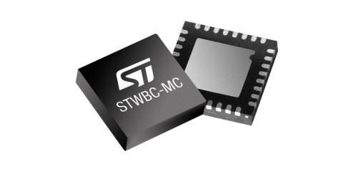 STWBC-MC 15W wireless battery-charger transmitter from STMicroelectronics