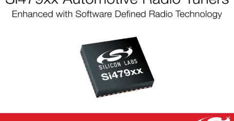 Si479xx Automotive Tuner Family with Software-Defined Radio Technology
