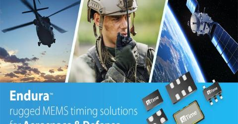 SiTime's Endura Timing Solutions for Aerospace and Defense –  A Standout in Ruggedized Performance