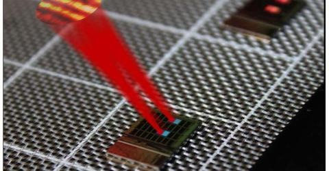 Silicon Chips with Serpentine Optical Phased Array for LIDAR
