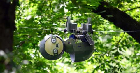 SlothBot Solar Powered Hyper Efficient Robot