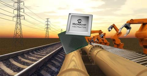 Microchip's SparX-5i Ethernet Switches
