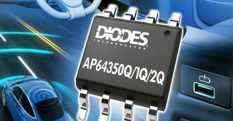 Automotive Compliant 3.5A Synchronous Buck Converters from Diodes Incorporated