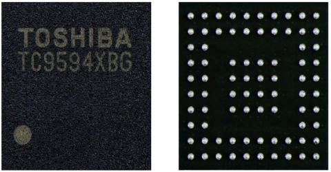 TC9594 and TC9595 Display Driver IC