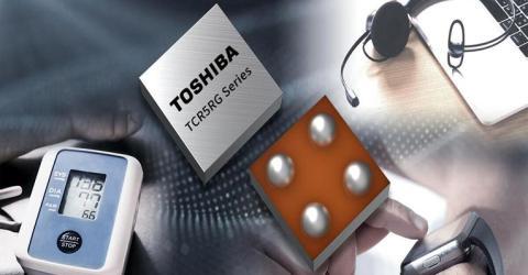 Toshiba's TCR5RG series of 45 LDO Regulators