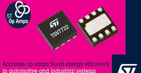 TSV7722 High Accuracy Op-Amp