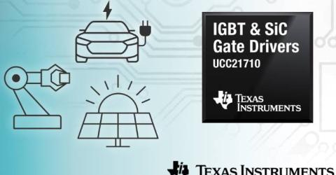 Isolated gate drivers with integrated sensing for IGBTs and SiC MOSFETs