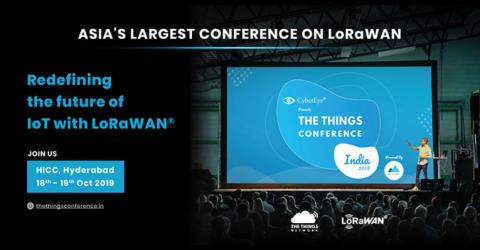 The Things Conference India - Making Nation Smart with LoRaWAN + IoT