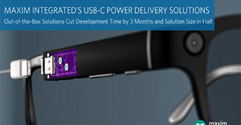 Maxim Integrated's USB-C Power Delivery Solutions