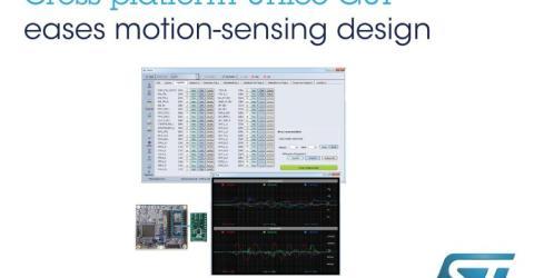 Improved GUI for Advanced Inertial Measurement Units Simplifies Custom Motion-Sensing Design
