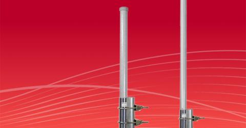 900MHz Vertical Pole Omni Antennas