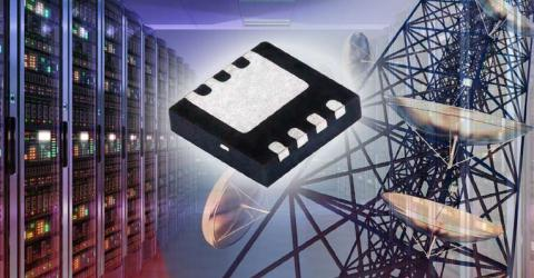 60 V MOSFET Increases Efficiency and Power Density With RDS(ON) of 4 mΩ in 3.3 mm2 Footprint