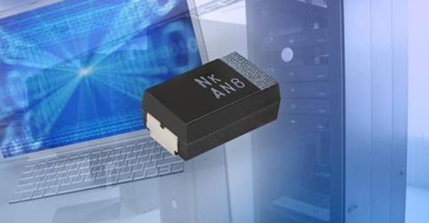 T55 Series of Polymer Tantalum Chip Capacitors With Single-Digit ESR Down to 7 mΩ in the D Case