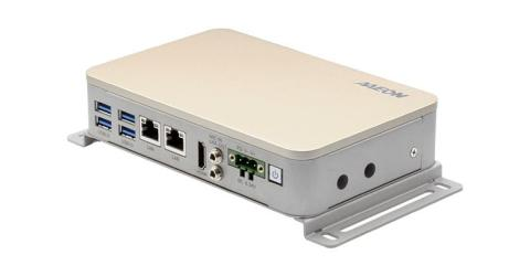 AI Edge Embedded Box PC with Intel Movidis Myriad X