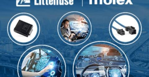 Littelfuse and Molex Connected Mobility Solutions for Automotive Communications Systems