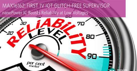 MAX16162 nanoPower Supply Supervisor IC