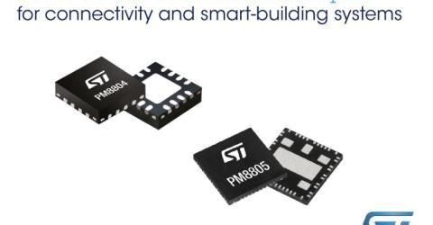 100W Power-over-Ethernet Chipset for Connectivity and Smart-Building Applications