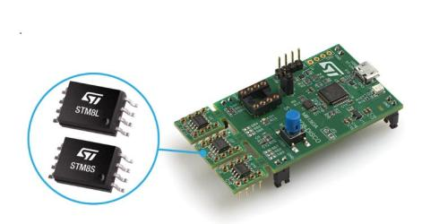 One-Board Discovery Kit Contains Three 8-Pin STM8 Microcontrollers for Best Convenience and Value