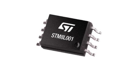 Ultra-low-power STM8L001 Microcontroller Provides Essential Features for Smart Devices in a Compact Package
