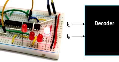 Binary Decoder Circuit