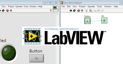 Getting Started with LabVIEW: Glow LED with Button