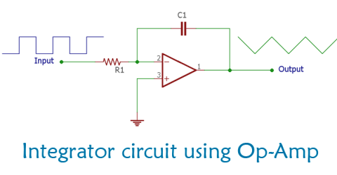 Operational Amplifier Integrator Circuit: Construction, Working and Applications