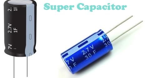 Supercapacitor or Ultra-Capacitor
