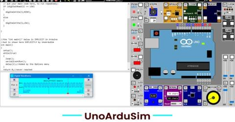 UnoArduSim : A Simulator to Learn Arduino Programming and Debugging Codes without Arduino Hardware