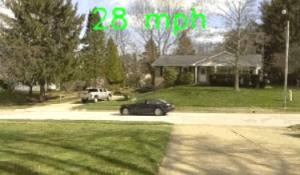 Raspberry Pi Car Speed Detector