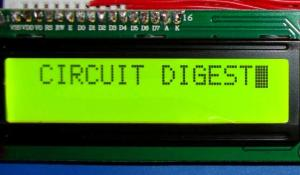 16x2 LCD Display Module with HD44780 Controller