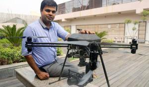 Aakash Sinha, CEO of Omnipresent Robot Tech