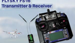 FLYSKY FS-i6 Transmitter and Receiver
