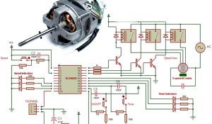 IR Decoder for Multi-Speed AC Motor Control