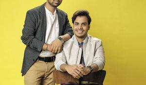Atomberg Founder Manoj Meena (Right) with Co-founder Sibabrata Das