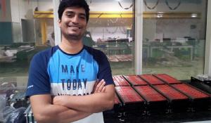 Nikhilesh Mishra- CEO of Grinntech Technologies