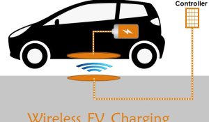 Wireless Electric Vehicle Charging System