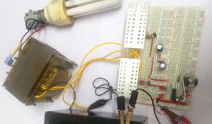 100 Watt 12v DC to 220v AC Inverter Circuit