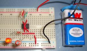 555 Timer Astable Multivibrator Circuit