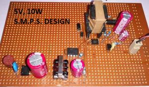 5V 2A SMPS Power Supply Circuit