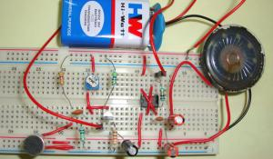 Simple Audio Amplifier Circuit using IC 555