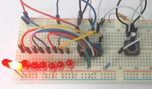 Binary Counter Circuit