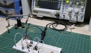 Capacitor ESR Meter using 555 Timer