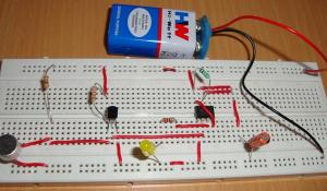 Clap Switch Project using IC 555