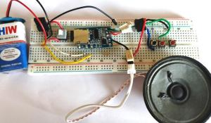 DIY MP3 Music Player Circuit