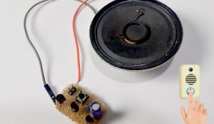 DIY Musical Doorbell Circuit using UM66T