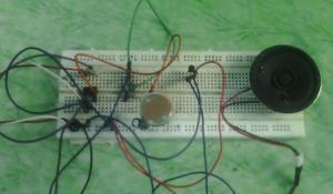 Dark Detector Alarm Project using 555 Timer IC
