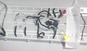 Dark and Light Indicator Circuit using IC LM358