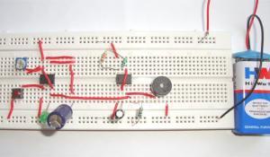 Doorbell using IC 555