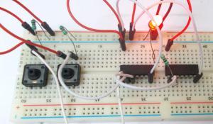 XNOR Gate Circuit